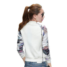Load image into Gallery viewer, Women Jacket Brand Tops Flower Print