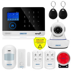 Wireless SIM GSM Home RFID Burglar Security Alarm