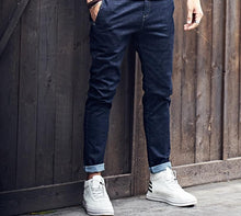 Load image into Gallery viewer, Men's Fashion Long Trousers Denim Jeans Pants - Zalaxy