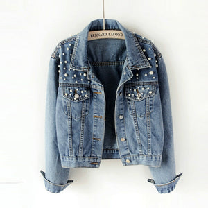 Crop Denim Jackets For Women - Zalaxy