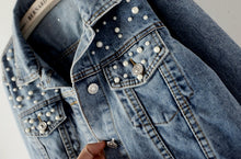 Load image into Gallery viewer, Crop Denim Jackets For Women - Zalaxy