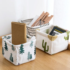 Rattan Basket Storage Box