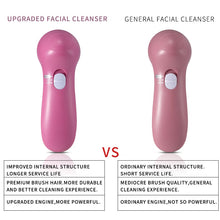 Load image into Gallery viewer, 5 in 1 Electric Facial Cleanser