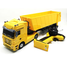 Load image into Gallery viewer, RC Truck 1:32 Dumper 10 Wheel Tilting Cart