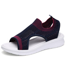 Load image into Gallery viewer, Women Summer Wedge Comfort Sandals