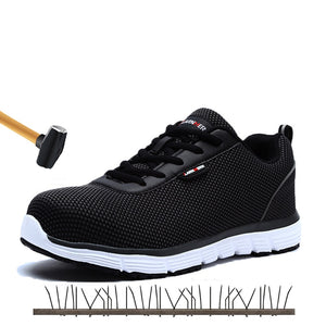 Safety Shoes Men Steel Toe Safety Work Shoes - Zalaxy