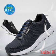 Load image into Gallery viewer, Safety Shoes Men Steel Toe Safety Work Shoes - Zalaxy