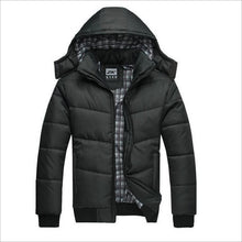 Load image into Gallery viewer, Men's  Casual Slim Cotton With Hooded Parkas - Zalaxy