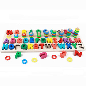 Montessori Jigsaw Wooden Puzzle Toy