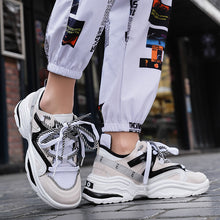 Load image into Gallery viewer, Harajuku Autumn Vintage Sneakers Men Breathable Mesh - Zalaxy