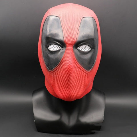 Deadpool Adult Latex Full Face Mask - Zalaxy