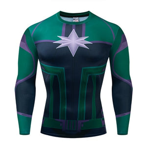 Men's Cosplay 3D Printed Long Sleeve Shirt