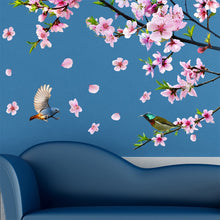 Load image into Gallery viewer, Peach Blossom Wall Stickers