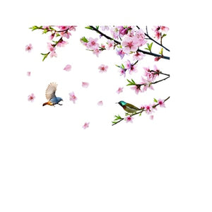 Peach Blossom Wall Stickers