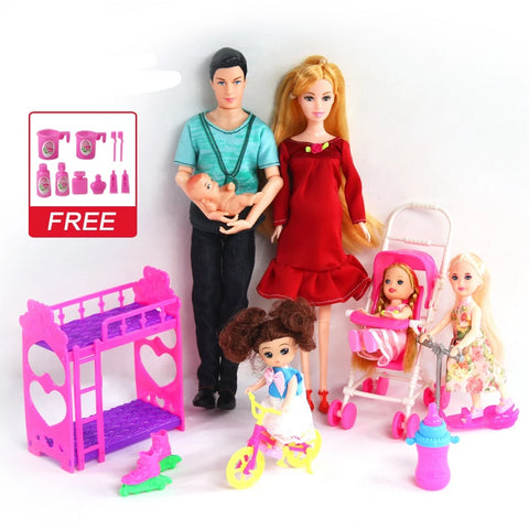 People Family Doll Suits Mom/ Dad/ Son