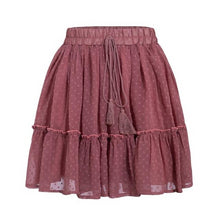 Load image into Gallery viewer, Casual Polka Dot Mini Women Skirt - Zalaxy