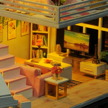 Load image into Gallery viewer, Doll House Furniture with LED 3D Wooden