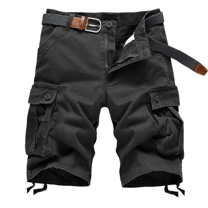Men's Baggy Multi-Pocket Cargo Shorts