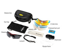 Load image into Gallery viewer, Professional Polarized Cycling Glasses Bike Goggles