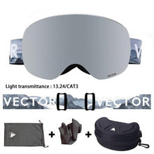 Load image into Gallery viewer, Magnetic Ski Goggles UV400 Protection