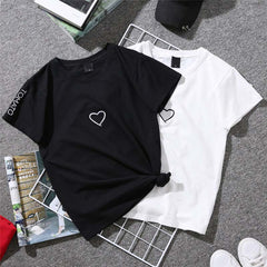 Summer Couples Lovers T-shirt