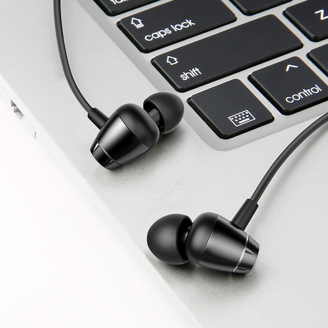 Magnet Earbuds With Microphone Stereo