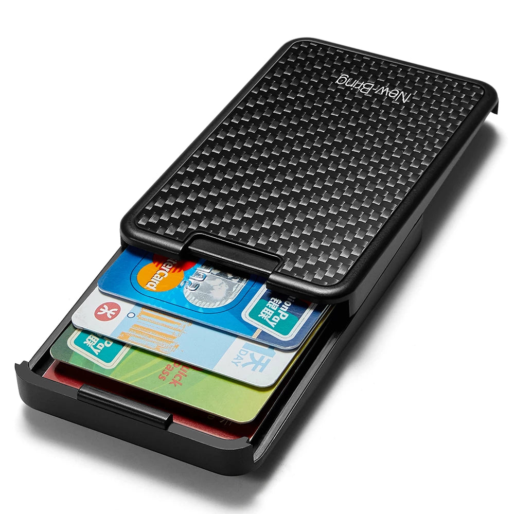 Carbon Fiber Credit ID Card Holder - Zalaxy