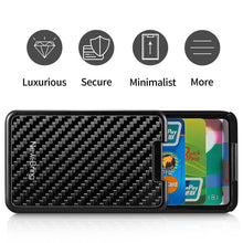 Load image into Gallery viewer, Carbon Fiber Credit ID Card Holder - Zalaxy
