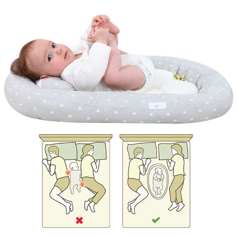 Baby Nest Portable Crib Travel Bed - Zalaxy
