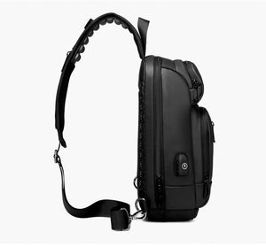 USB Charging Casual Shoulder Crossbody Bags
