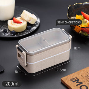 Japanese Microwave Bento Box