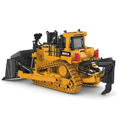 Crawler Bulldozer Model Alloy Diecast - Zalaxy