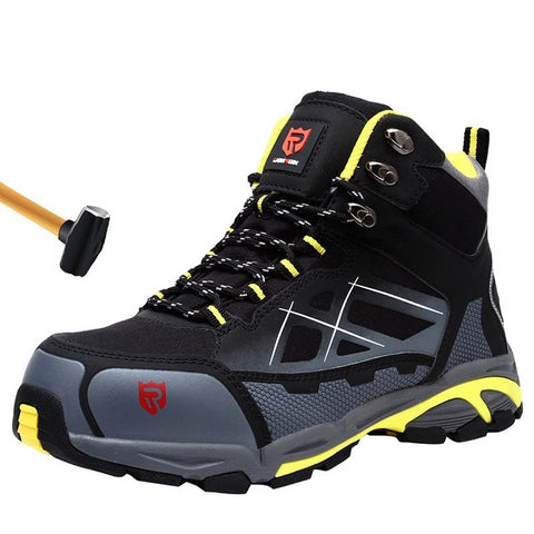 Men's Steel Toe Work Safety Boots