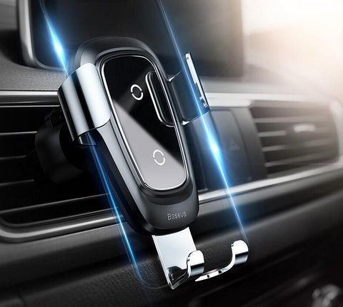 Qi Wireless Charger Car Phone Holder