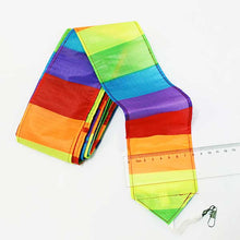 Load image into Gallery viewer, 10M Super Nylon Rainbow Kite Tail Line