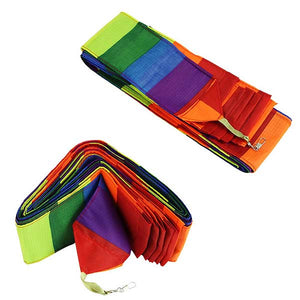 10M Super Nylon Rainbow Kite Tail Line