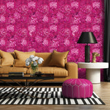 Divine Magnificence - Oversized Hot Pink Peony Floral Wallpaper