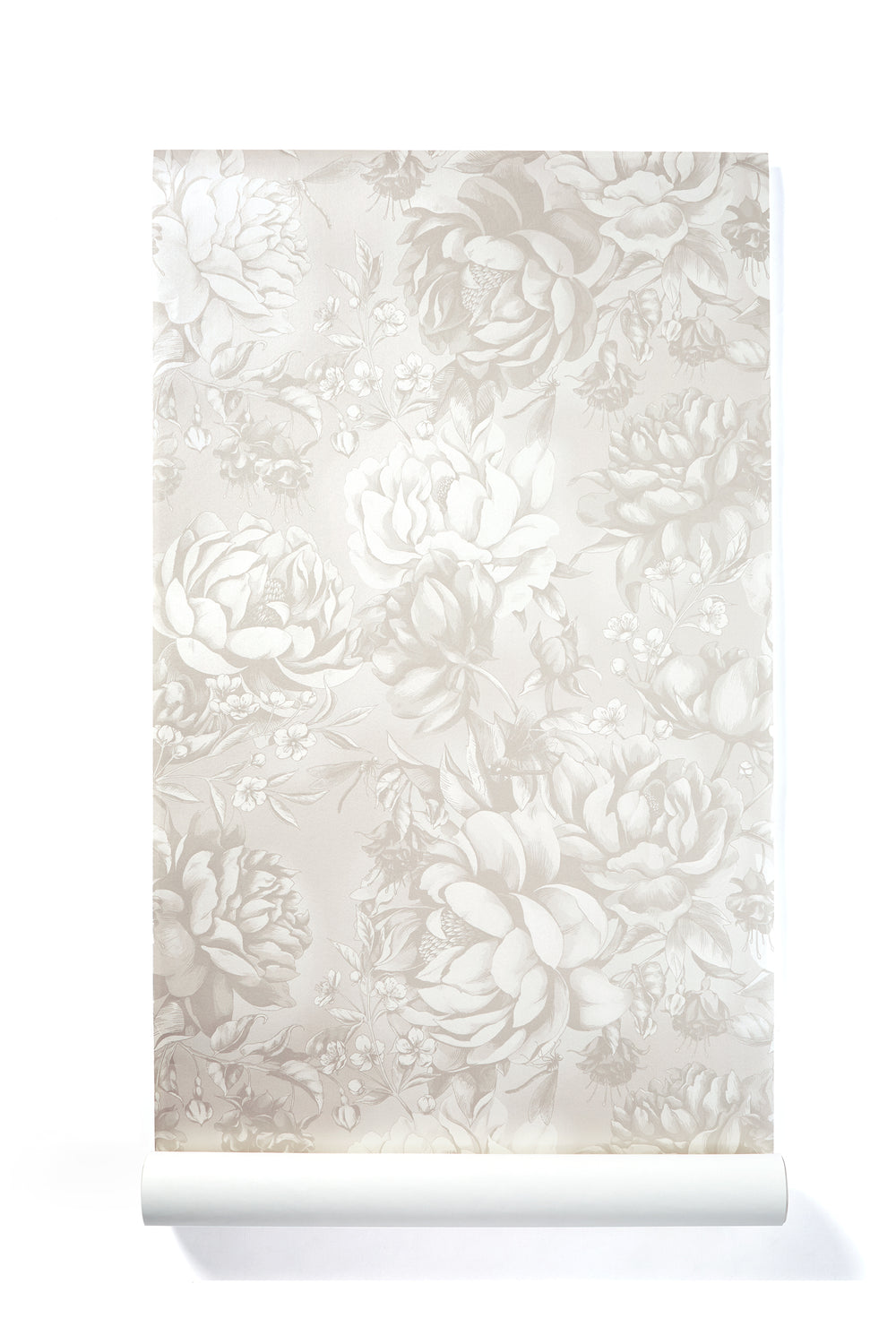 Beauty Becoming - Oversized Peony Floral Wallpaper