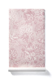 Infinite Heart - Oversized Blush Peony Floral Wallpaper, Matte Finish