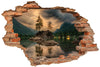 Sticker trompe l'oeil - Lac