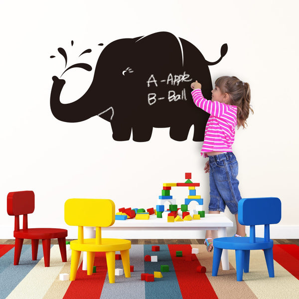 Sticker ardoise Elephant