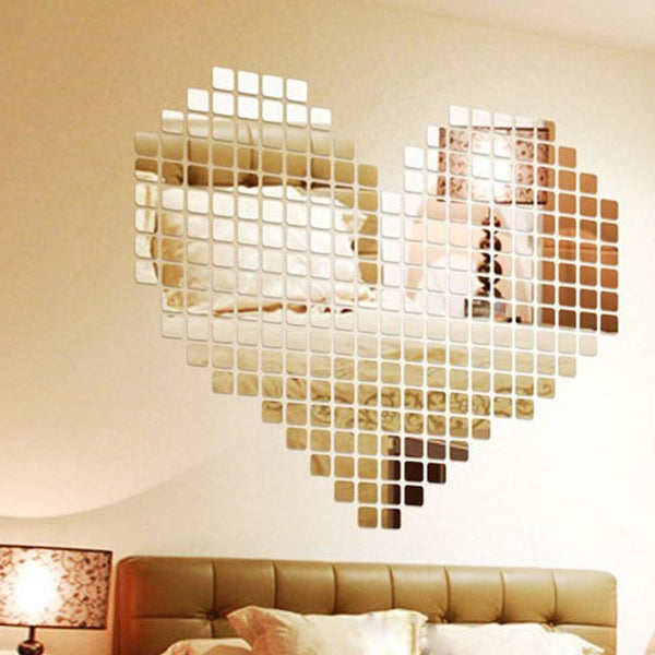 Sticker miroir - Mosaique