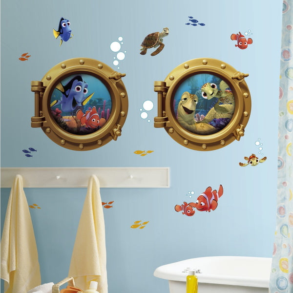 Grand sticker Le MONDE de NEMO