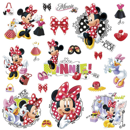 Sticker MINNIE AIME le shopping