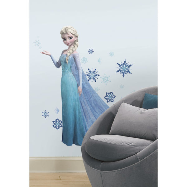 Grand sticker princesse ELSA -  LA REINE DES NEIGES