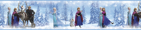 Sticker Frise Princesses LA REINE DES NEIGES