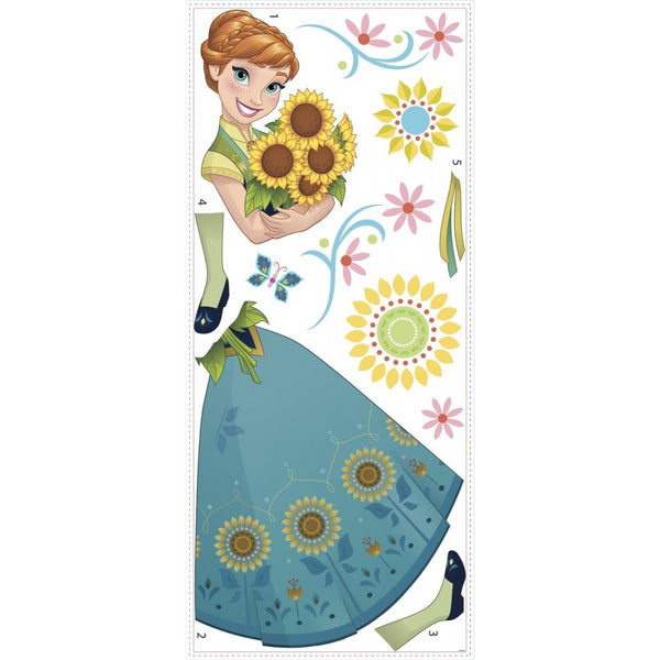 Sticker géant Anna Fever Reine des Neiges Disney