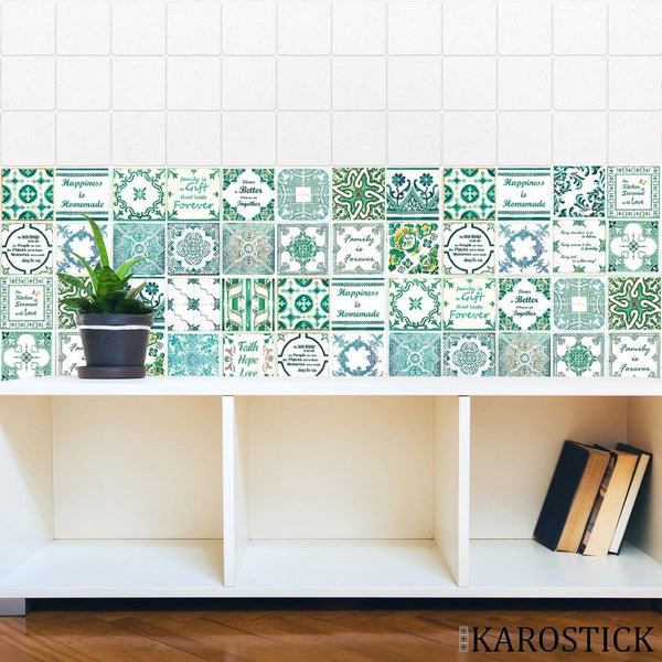 Stickers Carrelages - Carreaux Ciment So British