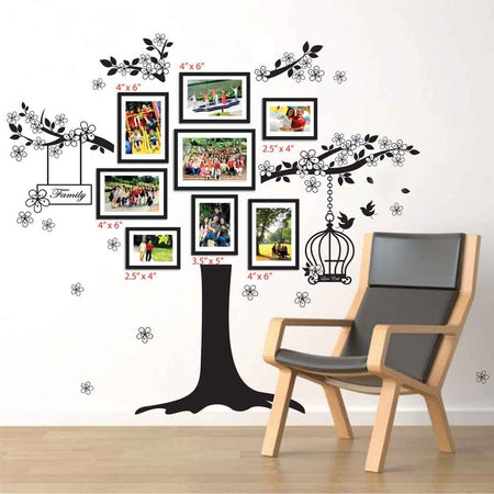 Sticker Arbre Familliale pour photos