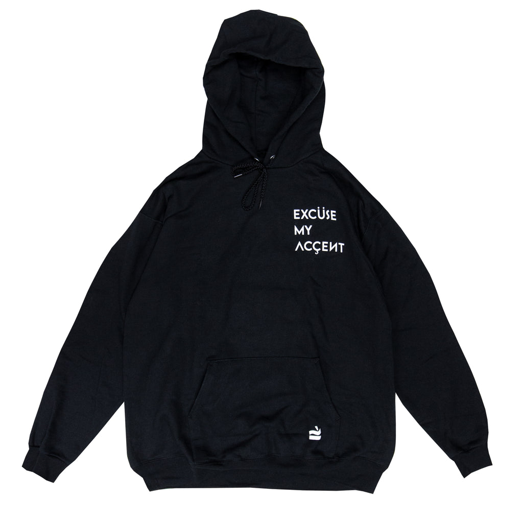Excuse My Accent Hoodie (Black)
